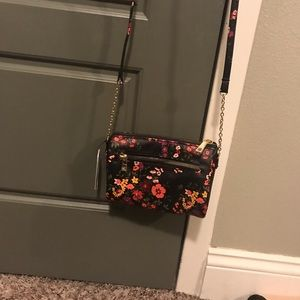 Floral cross body